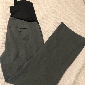 Loft Maternity Grey Trousers